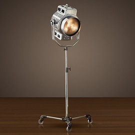 Restoration Hardware - 1940s Hollywood Studio Floor Lamp