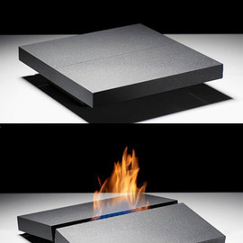 Porsche Studio Design - Fireplace on your Coffee Table