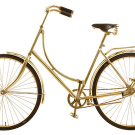 Van Heesh Design - Brass Bike