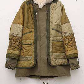 NADA. - Re-make liner quilt&Mods coat