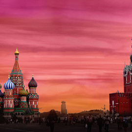 St Basil´s Cathedral - Kremlin, Moscow