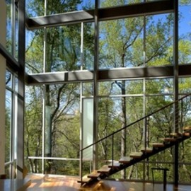 Frank Harmon Architect PA. - Strickland-Ferris Residence. Location: Raleigh, NC, USA