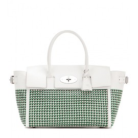 Mulberry - Bayswater Buckle woven leather tote