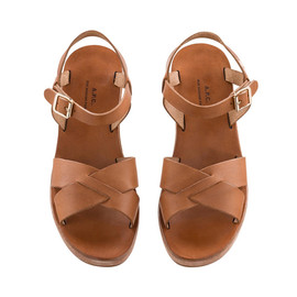APC - Classic wedge sandals