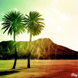 Rayone - Diamond Head,Honolulu,Hawaii.