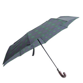 J.CREW - ShedRain® for J.Crew Black Watch umbrella