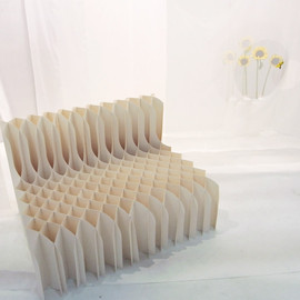 Koji Sekita - 'Watching You' paper chair