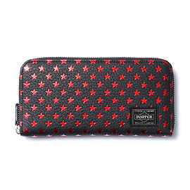 "HEAD PORTER - ""ZIGGY"" WALLET (L) RED"