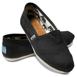 TOMS - Black/Canvas Woman's Classics