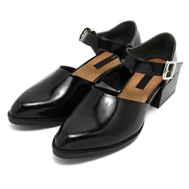 SMIR NASLI - サミールナスリ / Leather Belted Shoes