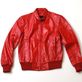 CASABLANCA - LEATHER BLOUSON