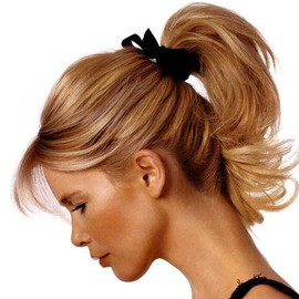 Claudia Schiffer - Ponytail Hairstyle