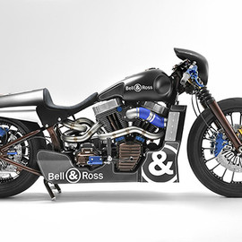 Bell & Ross and Harley-Davidson - Racing Motorcycle