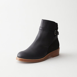 Acne - CLOVER LOW HEEL ANKLE BOOT