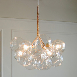 PELLE - 24k Gold XLarge Bubble Chandelier