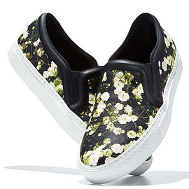 Givenchy - Floral-Print Skate Sneaker, Baby's Breath