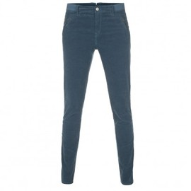 Paul Smith Women - Skinny Fit Teal Corduroy Trousers