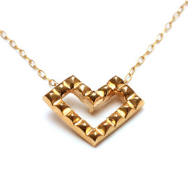 JAM HOME MADE - K10 ROYAL STUDS OPEN HEART NECKLACE NEW