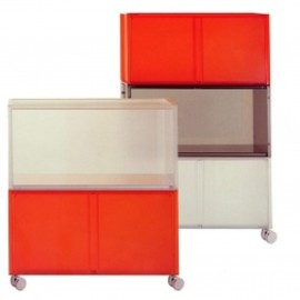 "Kartell - ""One Storage Unit"" (by Piero Lissoni )"