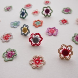 peikko - flower button pierce