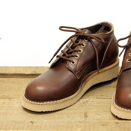 nepenthes別注 w-stitch Oxford Boot