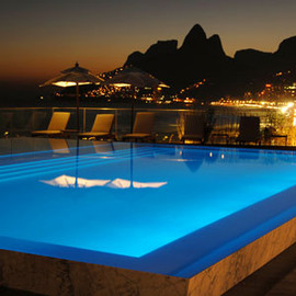Fasano Hotel - Rio de Janeiro, Brazil,  Rooftop Swimming Pool, Winter Vacation with Arrow