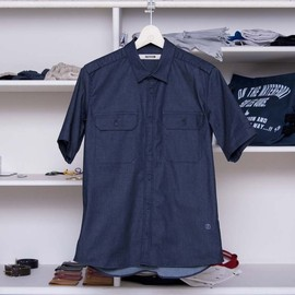 FACTOTUM - DENIM REGULAR SHIRTS