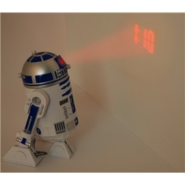 STAR WARS - R2D2 Projection Alarm Clock
