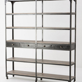ANTHROPOLOGIE - Decker Double Bookcase