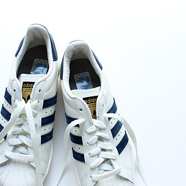 adidas - SUPERSTAR 80s VINTAGE DX - COLLEGE NAVY/OFF WHITE