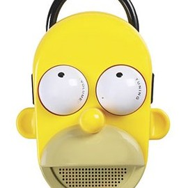 The Simpsons - Homer Shower Radio