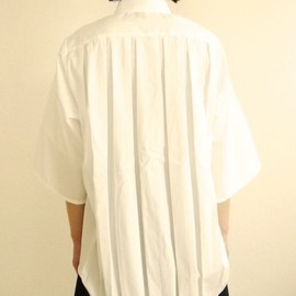 POURTON DE MOI - PLEAT SHIRT