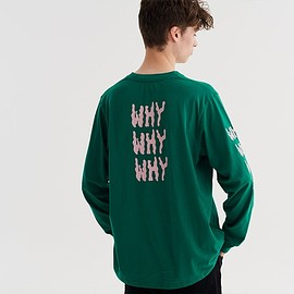 Lazy Oaf - Why? Long Sleeve T-shirt