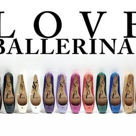 YVES SAINT-LAURENT - ysl love ballerinas