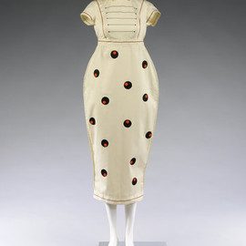 Dress designed by Willy Brown in 1980