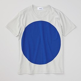 ALOYE - Geometry #3 - Color Blocked S/S T-shirt (Light Gray-Blue)