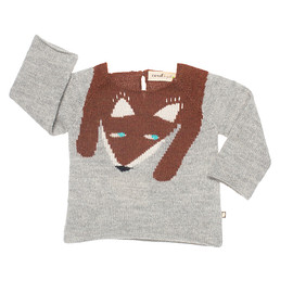 oeuf nyc - Fox Sweater Light Grey