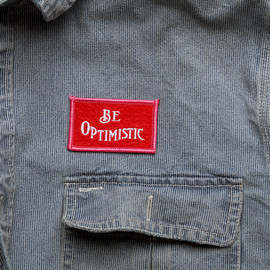 Best Made - Be Optimistic Felt Badge