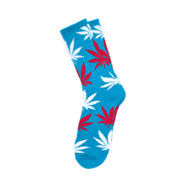 HUF - PLANTLIFE SOCKS (Blue/Red/White)