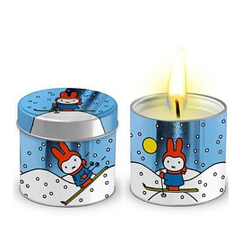 Miffy - Tea Light Candle in a Wintry Tin