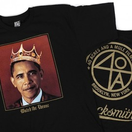 Rocksmith, 40 Acres And A Mule, Spike Lee - Rocksmith x Spike Lee - Obama Tee in Black