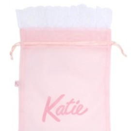 Katie - KATIE LINGERIE lacy pouch ライトピンク