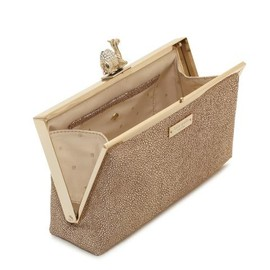 kate spade NEW YORK - queen of the nile camel clutch