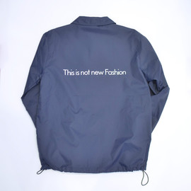 thinq - NYLON COACH JACKET