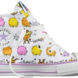 "CONVERSE - Dr. Seuss & Converse Release ""The Lorax"" Chuck Taylor All-Stars"
