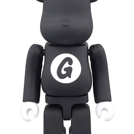 MEDICOM TOY - BE@RBRICK GOODENOUGH BLACK 100%