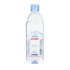 EVIAN X COLETTE - Natural mineral water 50cl EVIAN x COLETTE Natural mineral water 50cl