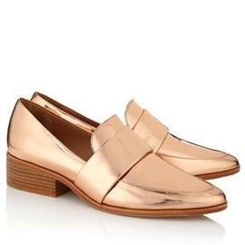 3.1 Phillip Lim - Rose Gold Quinn Loafers