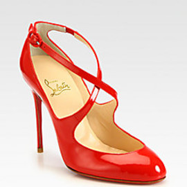 Christian Louboutin - Vita Dita Patent Leather Mary Jane Pumps
