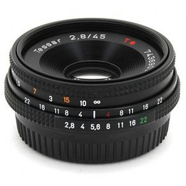 Carl Zeiss - Tesser T* F2.8 45mm Contax/Yashica mount